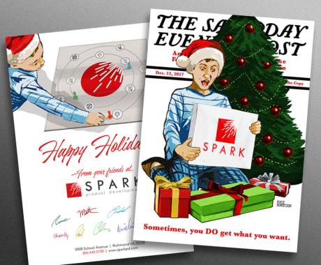 Spark Holiday Cards